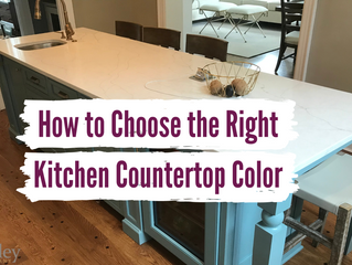 How to Choose the Right Kitchen Countertop Color
