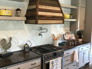 5 Decorating Ideas for Above the Cabinet