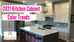 2021 Kitchen Cabinet Color Trends