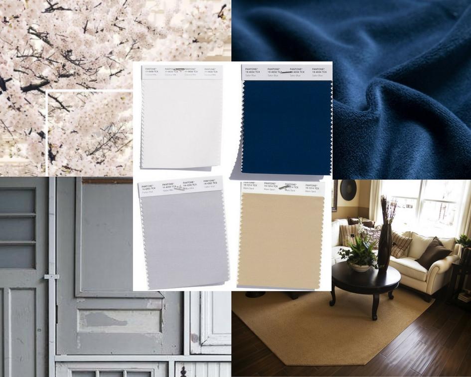 mccarley cabinets pantone spring 2018 classic neutrals coconut milk sailor blue harbor mist warm sand