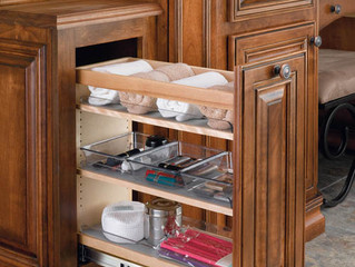 Accessorizing Your Master Bathroom with Rev-a-Shelf