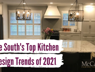 The South's Top Kitchen Design Trends of 2021