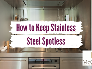 How to Keep Stainless Steel Spotless