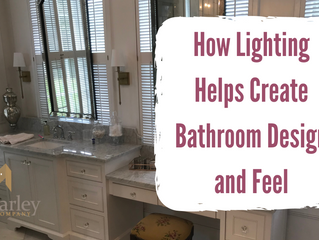 How Lighting Helps Create Bathroom Design and Feel