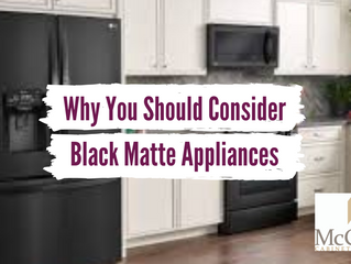 Why You Should Consider Black Matte Appliances