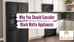 Why You Should Consider Black Matte Appliances