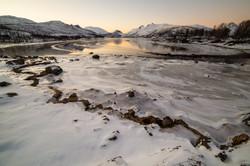 Fjord glacé - Ile de Senja