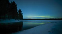 Aurore à Hossa - Finlande
