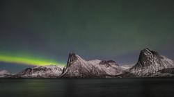 Aurore - Ile de Senja Norvège