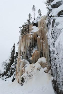 Cascade gelée - Finlande