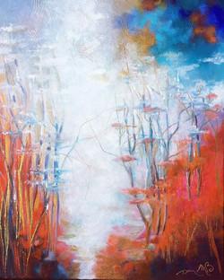 La dernière toile __«Eau de printemps »