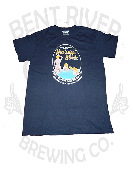 Bent River Mississippi Blonde T-Shirt