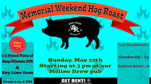 Memorial Day Weekend Hog Roast