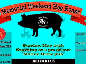 Memorial Day Weekend Hog Roast