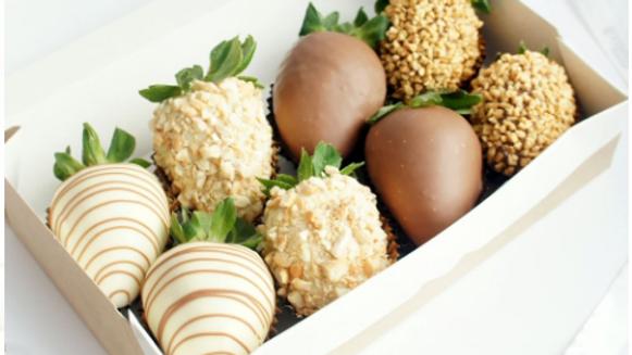 Клубника в шоколаде «Очарование»