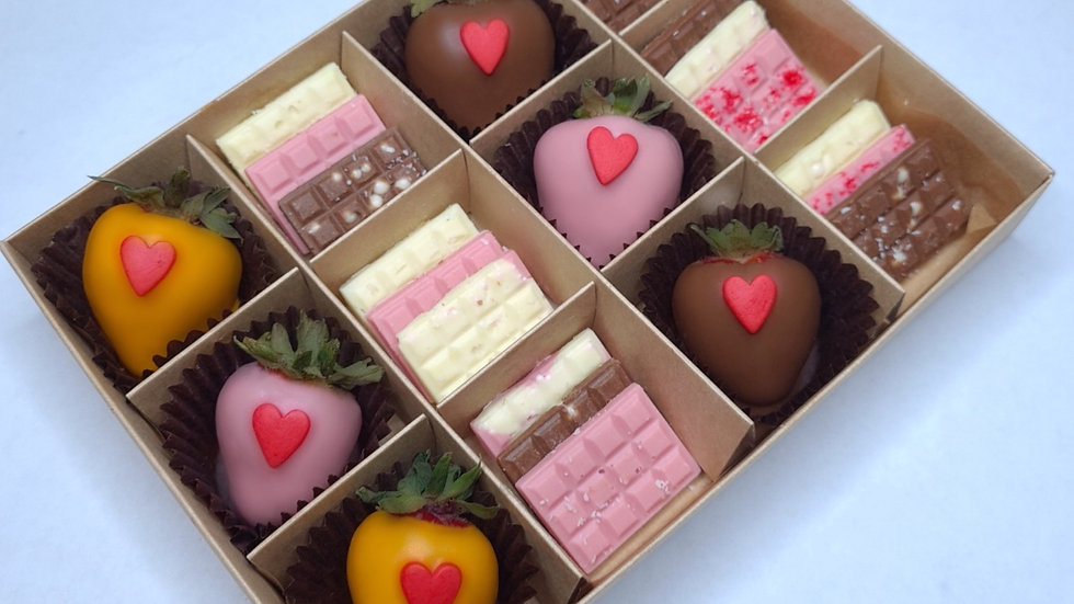 Клубника в шоколаде+плитки шоколада