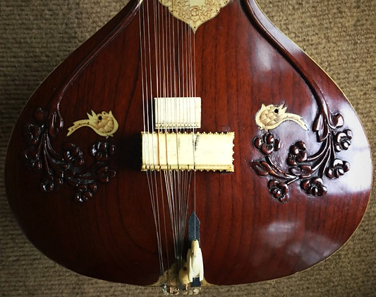 Early-1980s Hiren Roy Red Badge Sitar