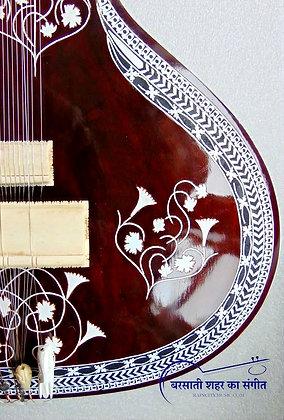 Circa-2018 Naeem Sitarmaker Sitar Teak Kohinoor Style