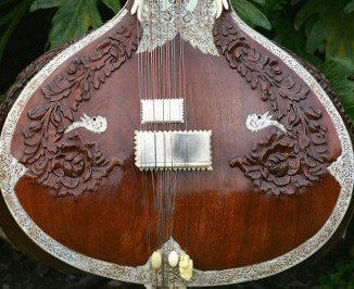 1980s Hemen Sitar Full Decoration
