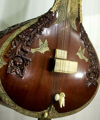 Late-20th Century Anonyme Sitar