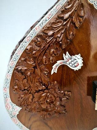2000s Shahidali Kharaj Pancham Full Decoration Sitar