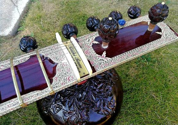 2000s Rikhi Ram 8-String Kharaj Pancham Sitar