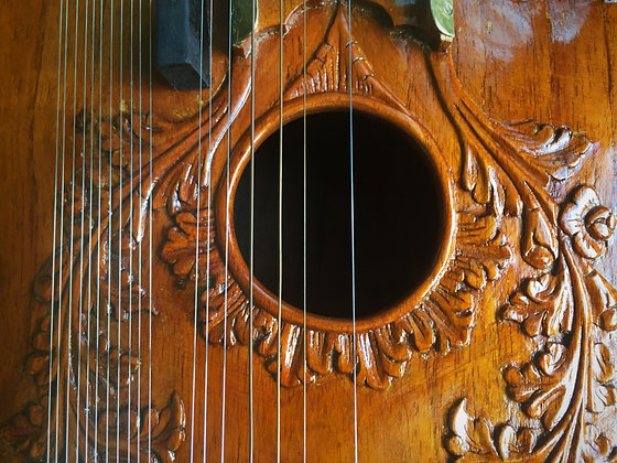 2008 Imrat Guitar by Shahidali Sitarmaker - Imrat Gitar