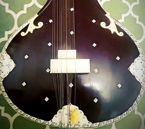 1950s Sher Mohammad & Sons Sitar