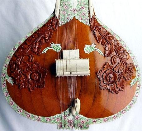 Mid-2000s Srishti KL&B-Inspired Sitar