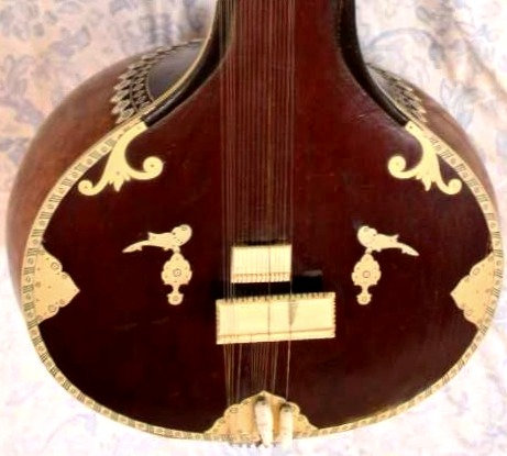 1960s Sher Mohammad & Sons Sitar