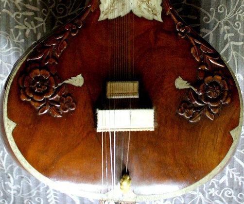 Circa-Unknown Jangid Musical Works Jaipur Sitar