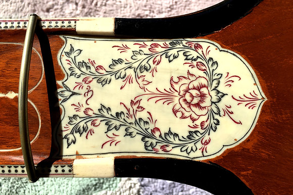 """Early 1950s Mohan Singh Sitar """"No. 75"""""""