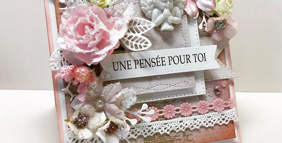 Carte collection dimensionnel CD-PENSÉE-ANG-RS