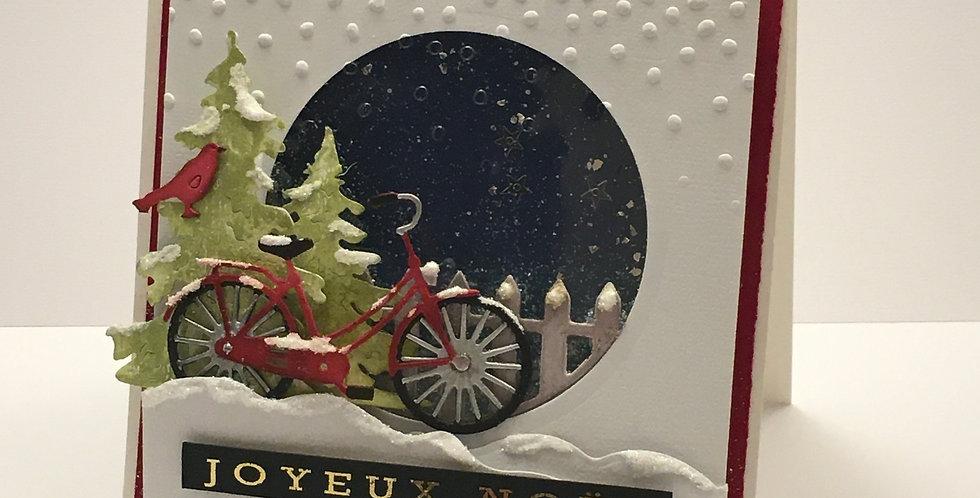 Carte dimensionnel: Vélo d'hiver