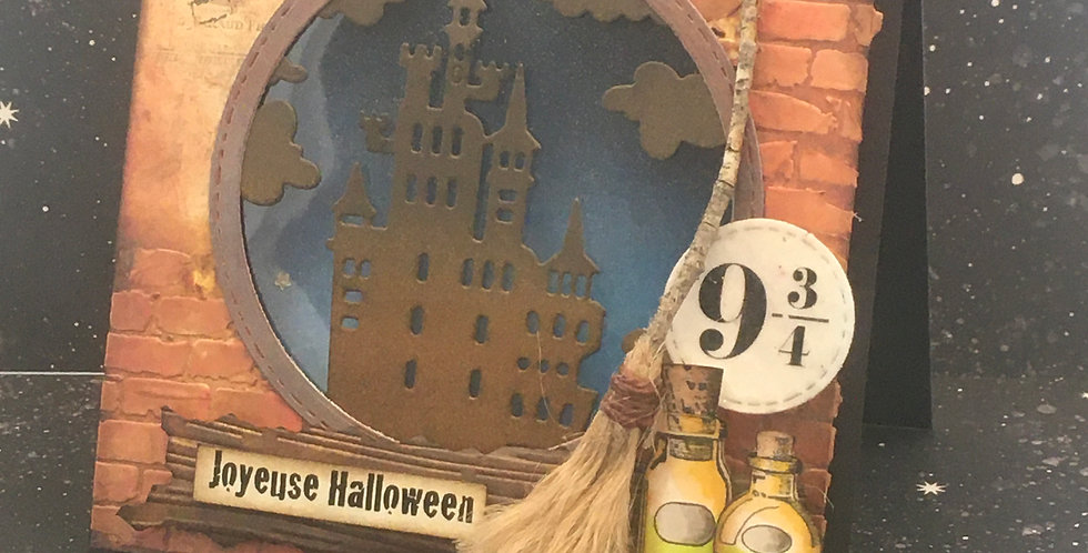 Carte dimensionnel: Halloween Plateforme 9 3/4