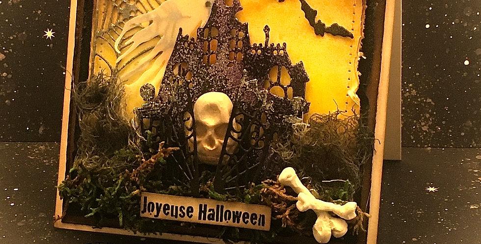 Carte dimensionnel: Halloween Maison Hantée