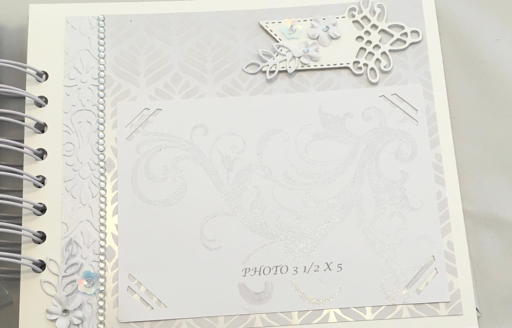Album-Petit/Small (Thématique mariage) $50