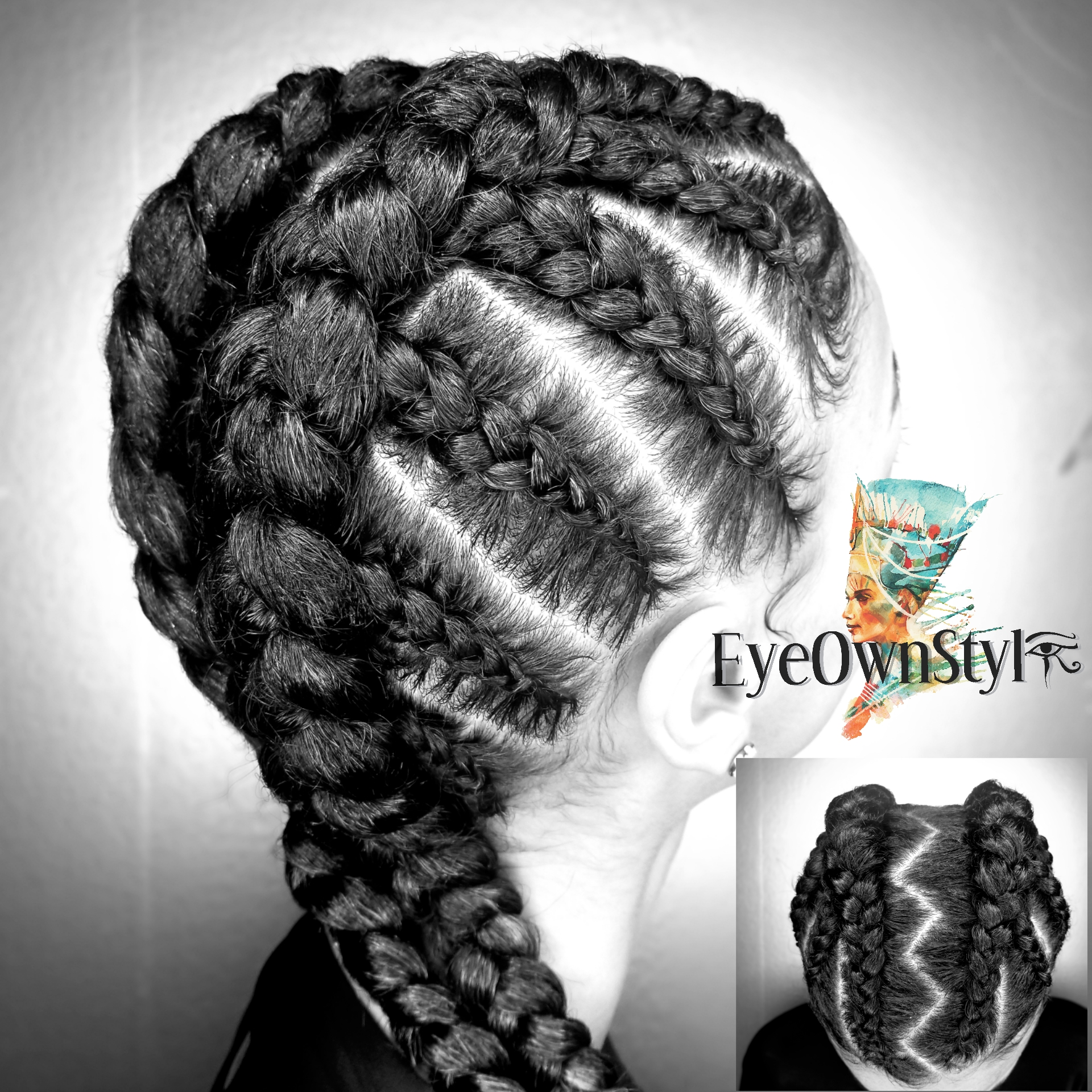 Zig Zag Two-Part Feed-In Braid