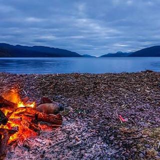 Fire at Loch Ness #lochness #lochnessmon