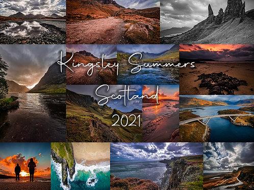 Scotland 2021 Calendar
