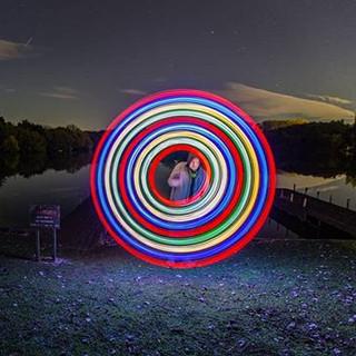 Spinners #nightshooters #nightphotograph