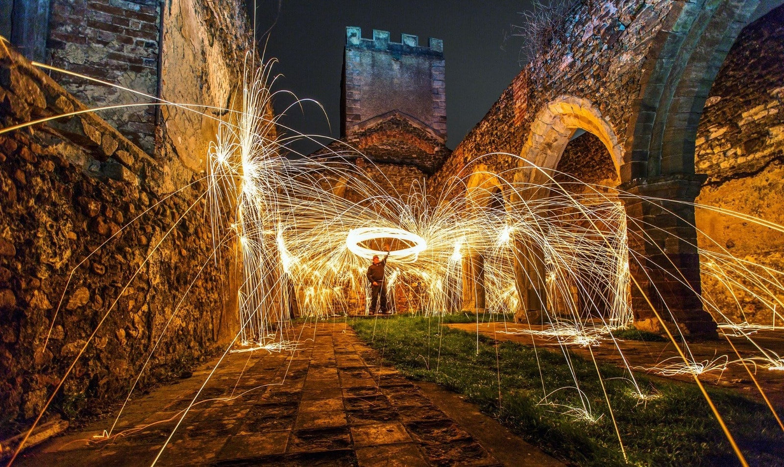 Wire wool & light painting Sat' Oct 9th