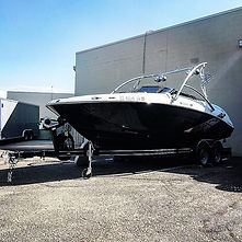 Yamaha 212ss boat with tower,speakers an