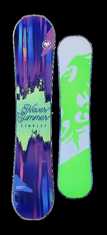 Never Summer Starlet Snowboard 2017