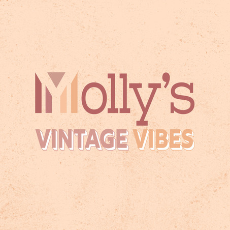 Thirteen Design Consultancy Logo Design Molly's Vintage Vibes