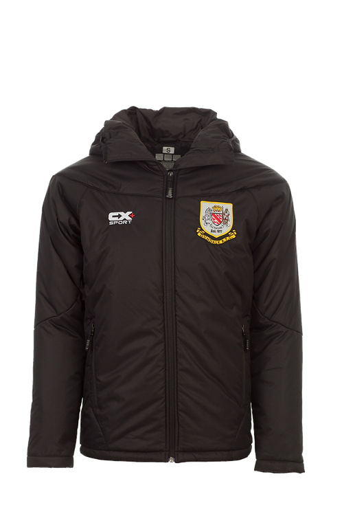 Dundalk RFC Padded Full Zip Bench Jacket