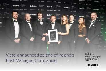 Viatel announced as one of Ireland's Best Managed Companies!