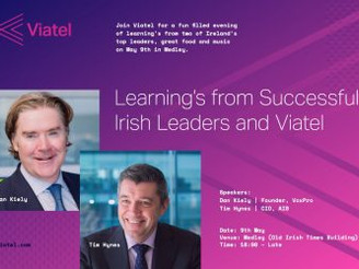 Event – Learnings from Successful Irish Leaders and Viatel