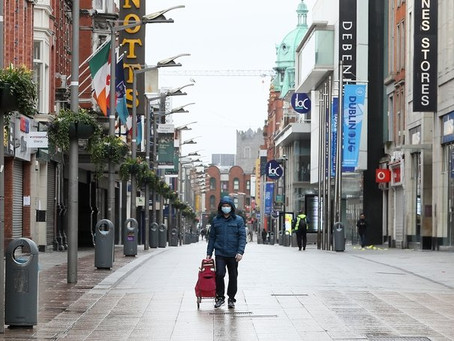 Irish businesses worst affected in Europe by Covid-19 restrictions