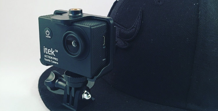 GoPro Action Camera Cap Clip - Customisable Text